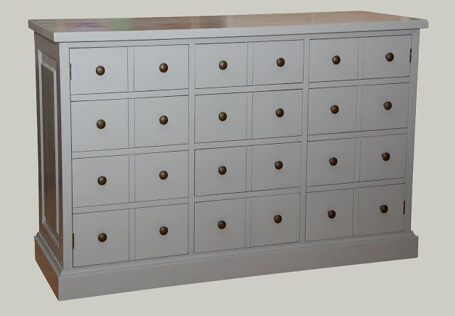 Apteekkarin lipasto, jossa osa laatikoista onkin ovia. Piirongin mitat 135x46x88 Katso lisää piironkimallejamme täältä: http://juvi.fi/piirongit.html