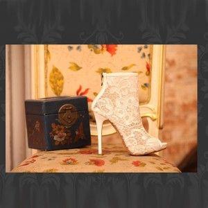 Lace Boots $86.00 Massive 60% off Sale store wide !!!