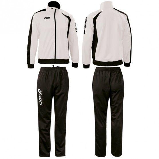 Melegítő Asics Suit Diff garnitúra fehér,fekete unisex