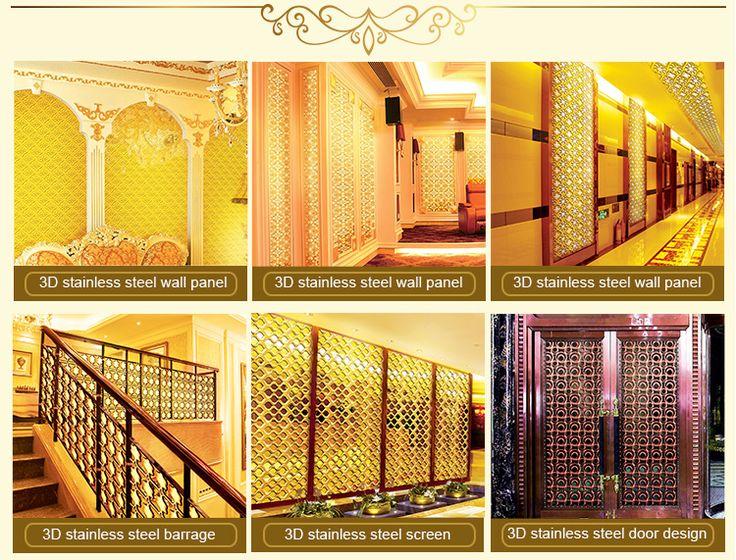 Мода Декоративный Золотой Лист Водонепроницаемый Ванная Комната Панелями