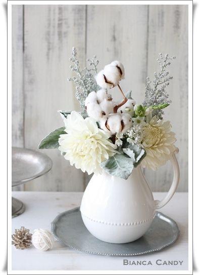 パリのお花屋さんスタイル♪フラワー教室ビアンカキャンディの「花のある暮らしのレシピ」~湘南 辻堂・藤沢・茅ヶ崎~