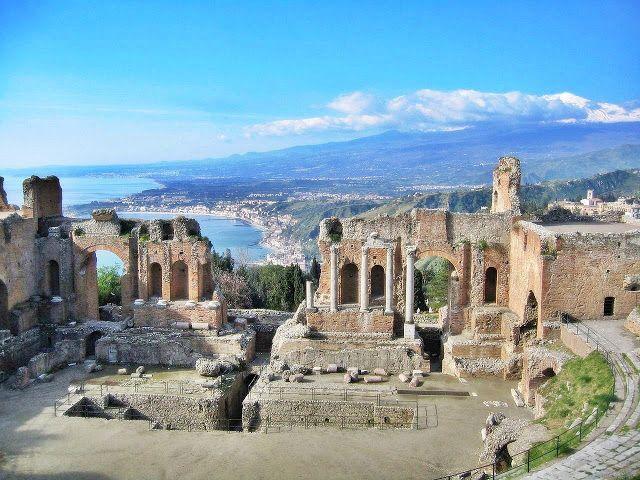 fascynujące podróże: Etna i Taormina - magia wulkanu   Włochy, Sycylia