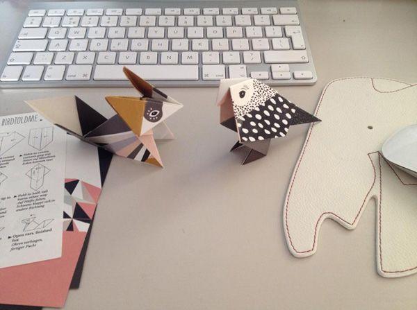 origami, papier, origami birds, vogels vouwen, papierkunst