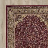 Found it at Wayfair - Traditional Area Rug in Maroon