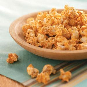 Buttery Cajun Popcorn Recipe from Taste of Home -- shared by Beth Stengel of North Hollywood, California