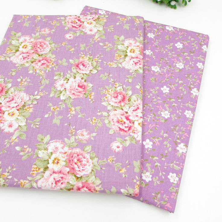 Find More Fabric Information about 50*160cm Purple Flowers Cotton Fabric for Patchwork Quilts Cushions Pillows Fabric TessutoTelas Patchwork Tilda,High Quality cotton background,China fabrics for wedding gowns Suppliers, Cheap cotton fabric yard from Jessica's fabric boutique on Aliexpress.com
