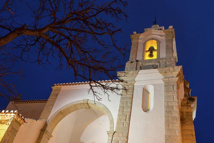 Gloriously Lit Blue Hour - Igreja De Santo Antonio In Lagos Portugal Photograph by Georgia Mizuleva