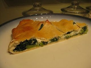 ... gourmande: Spinach & Broccoli Stuffed Pizza (Sbarro copycat recipe