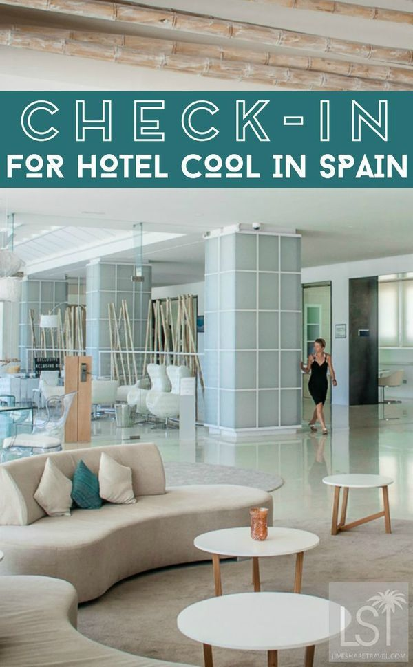 Take a look at the contemporary hotel interior design of Spain's Costa del Sol. We checked-in to the Amàre Marbella Beach Hotel in Marbella, in Andalucia, with its own beach club, rooftop bar and plenty of light, bright, cool design at this luxury travel retreat. #Spain #LuxuryHotels