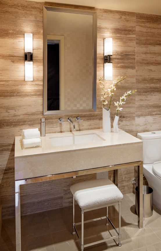 Depends of the style you want to have in your bathroom, you can choose lights that are suitable for it. If your home is modern and minimalistic then you sh