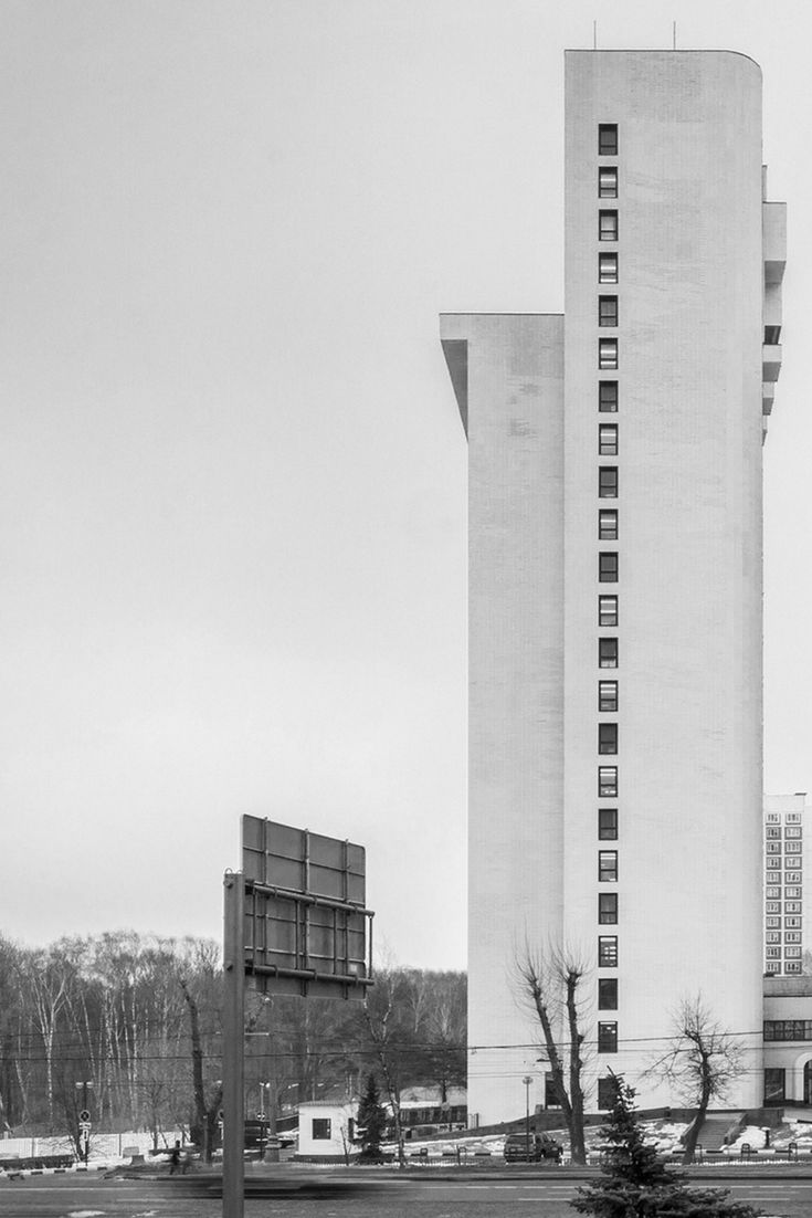 """Disgruntled with """"gray concrete boxes"""" in his home city, Moscow-based photographer Denis Esakov set his lens on them in a way that deliberately recalls Bernd and Hilla Becher's photographs of industrial architecture. This Is Not a Tower, presented here, collects fifteen buildings captured by Esakov. (Photo: © Denis Esakov)"""