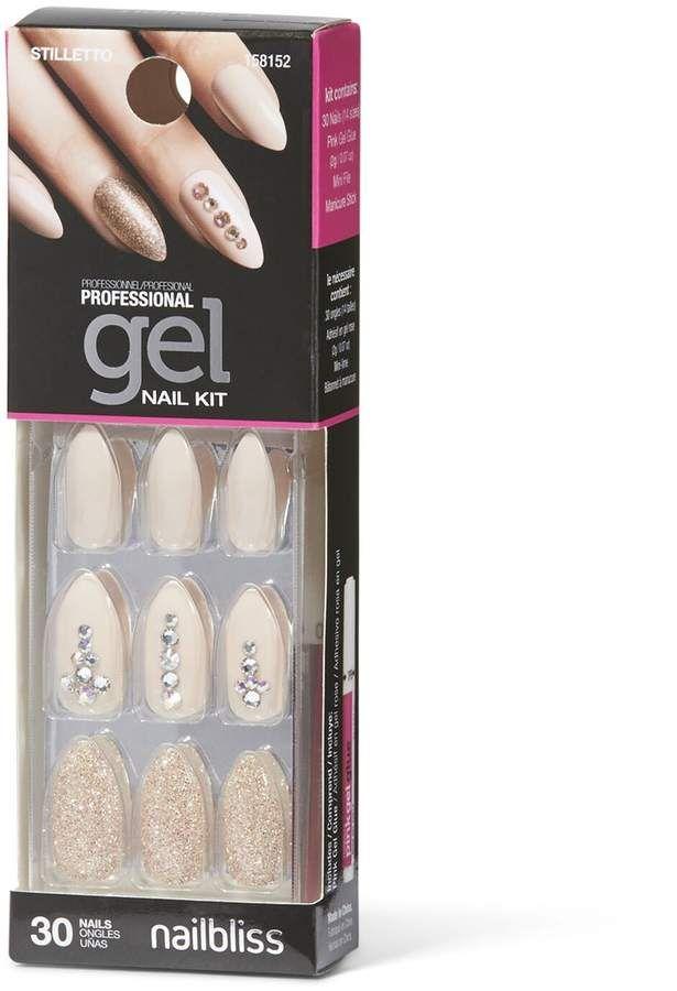 Party Of One Gel Nail Kit By Nail Bliss Gel Nail Kit Nail Kit Gel Nails