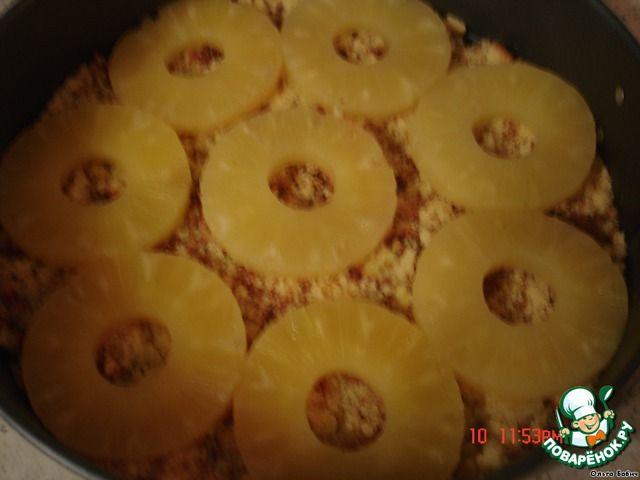 Рецепт, ананасовый салат