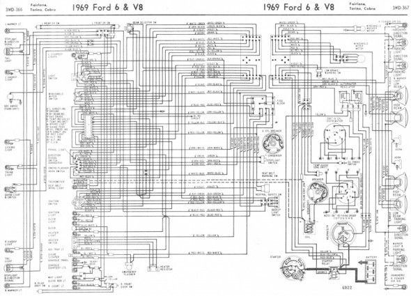 1969 Mustang Wiring Harness Diagram | Diagram, Wire, MustangPinterest