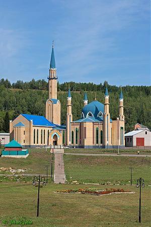 Mosque in Leninogorsk, Tatarstan, Russia