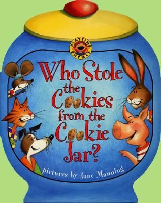 """Fun Circle Game! """"Who Stole the Cookie from the Cookie Jar?"""" I used to love playing this circle game when I was at school and now I have a book"""