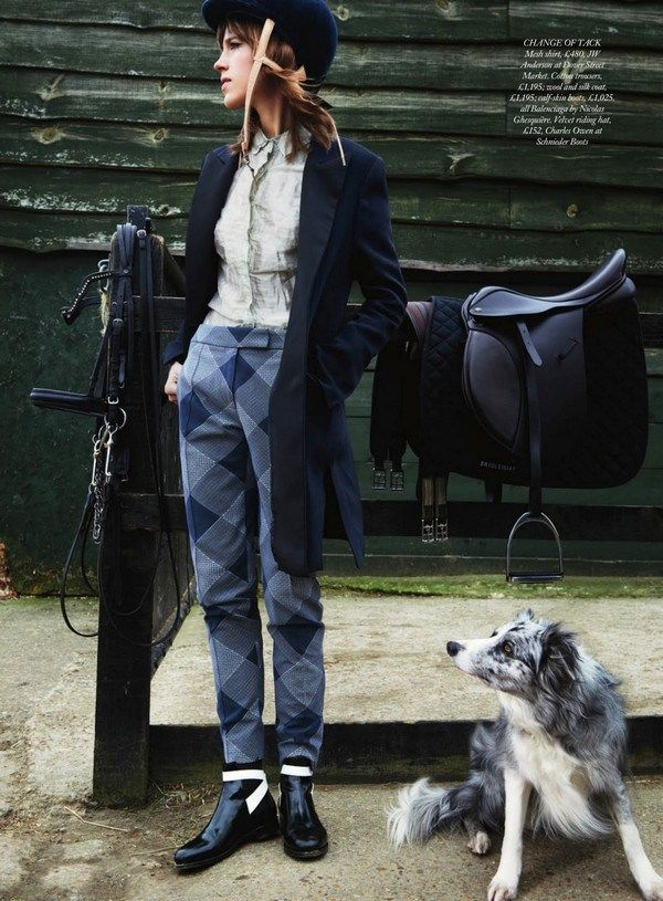 Sojourner Morrell by Pamela Hanson for Harper's Bazaar UK, june 2013