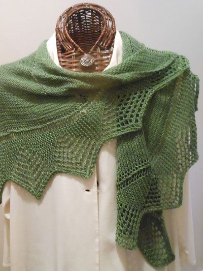 17 Best images about Knitting Shawl & Wrap Pattern Downloads on Pinterest...