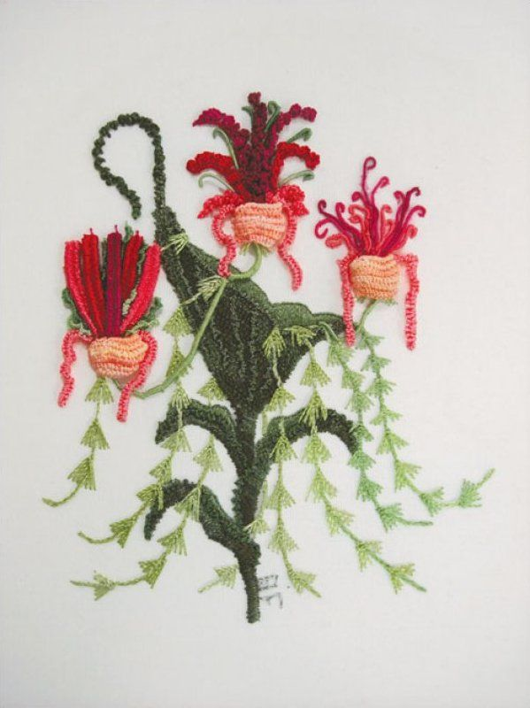 Large Photos Brazilian Embroidery | 953: Brazilian Embroidery Mastery: Showgirl Orchids with Polly Bingham ...
