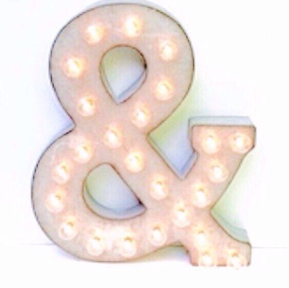 Marquee Letter / Marquee Light Up Letter / by LondonGraceBoutique