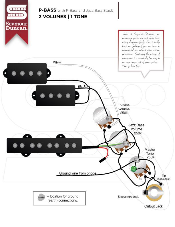 p bass wiring diagram seymour duncan  2005 panther 110