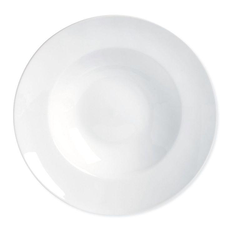 Pastateller Porzellan weiß ca D:27 cm