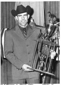 Bob A. Robinson, Pro Rodeo Hall of Fame member born in the hills of my hometown, Rockland, ID.