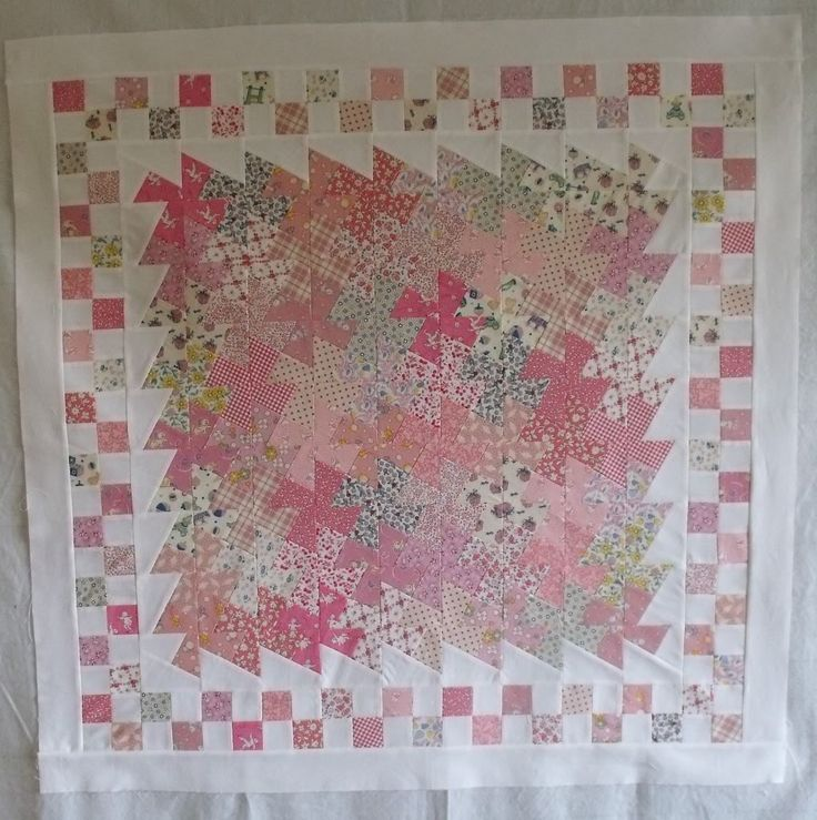 Twister Baby Quilts | Quilt in a Day - Baby quilt top - Quilting Photos - Community Forum