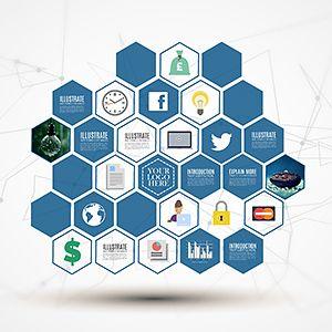 hive-design-creative-professional-hexagons-3d-prezi-template, Powerpoint templates