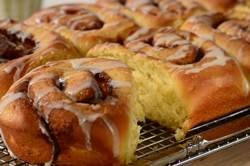 Although you may be able to buy these gorgeous buns, nothing compares to the smiles you are rewarded with when your family wakes up to the smell of these baking in the oven.  From Joyofbaking.com With Demo Video