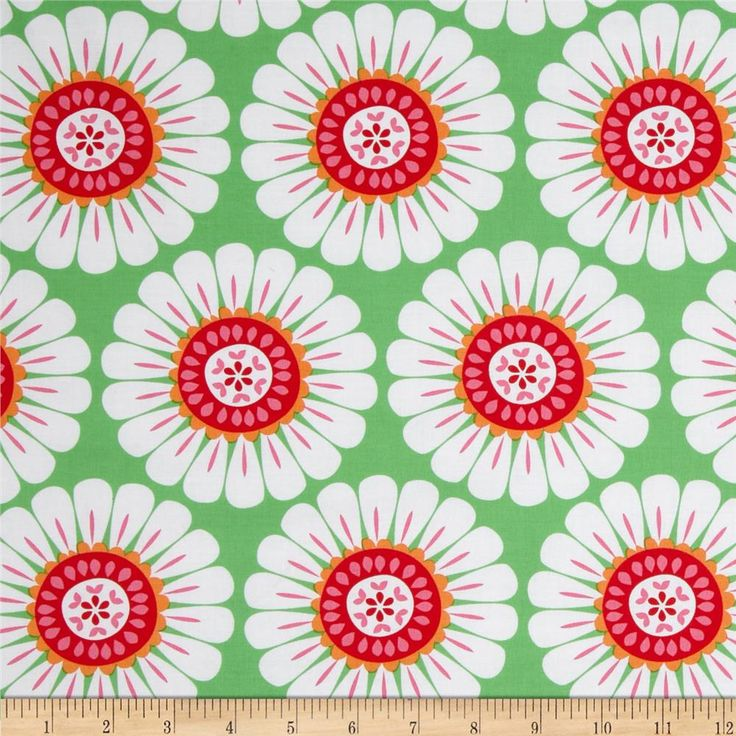 Michael Miller Holiday Ornaments for All Courtney Green from @fabricdotcom $9.48  From Michael Miller, this cotton print fabric is perfect for quilting, apparel, crafts and and home décor accents. Colors include green, white, hot pink, red and orange.