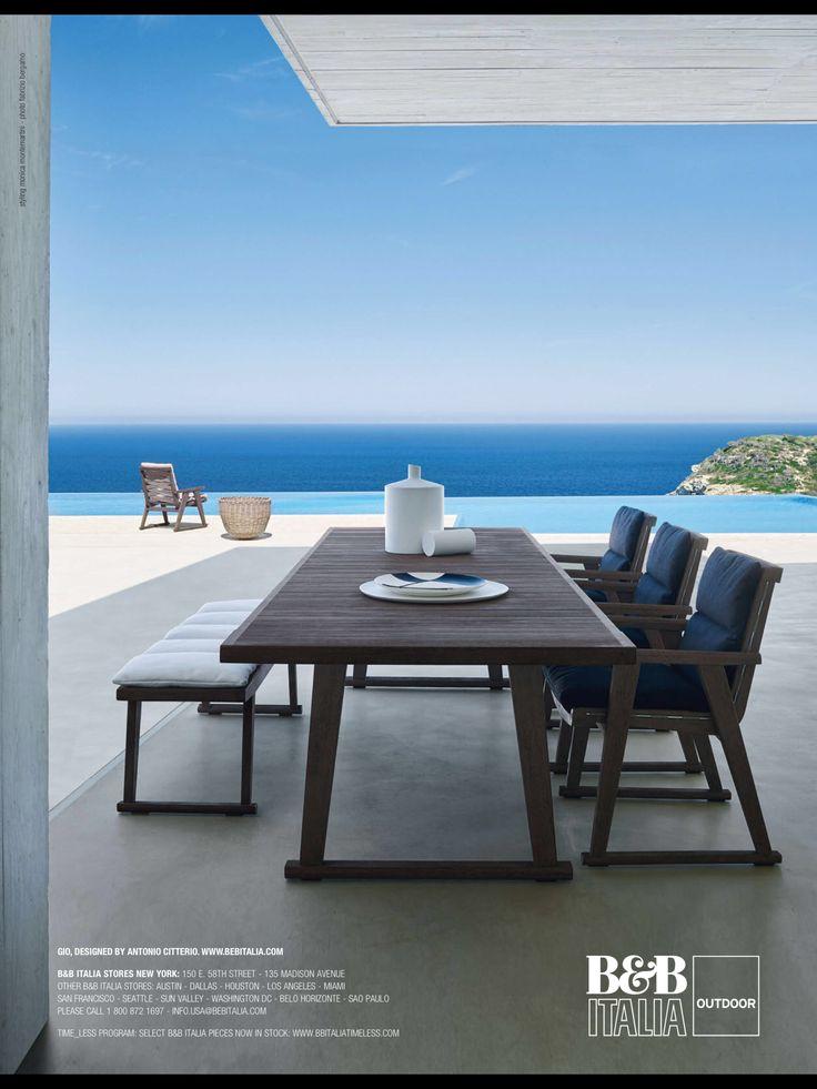 Terrasse, Esstisch