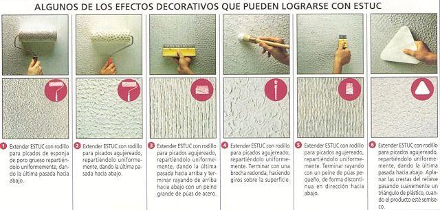 25 melhores ideias de como estucar una pared no pinterest - Como se hace el gotele en las paredes ...