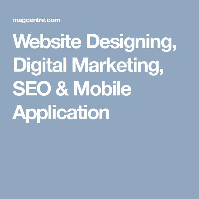 Website Designing, Digital Marketing, SEO & Mobile Application