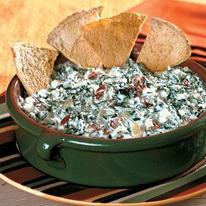 Crock pot cooking light spinach dip