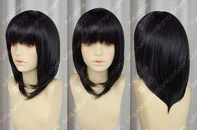 Робин / черный плеча - длина волос / see-бесплатной Kawasaki наруто косплей полный парик