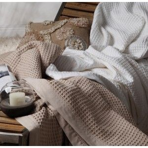 Ultima Cotton Waffle Blanket