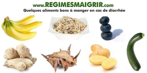 Certains aliments comme la banane ou le riz sont à privilégier quand vous luttez contre la diarrhée