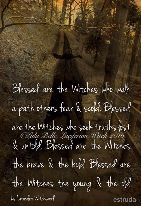 Blessed are the witches   Book of Prayers   Witchcraft