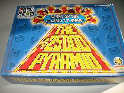 THE 25,000 PYRAMID Game Show Network Tv Show ©2000 Endless Games Made in USA