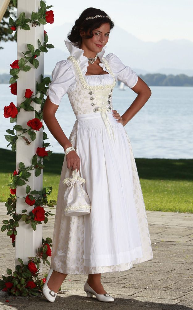 Hochzeitsdirndl - Chiemseer Dirndl  Tracht / Traditional Bavarian (Southern German) Wedding Dress