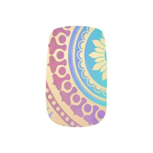 Decorative Hindu Art Pattern Minx Nail Wraps #fashion