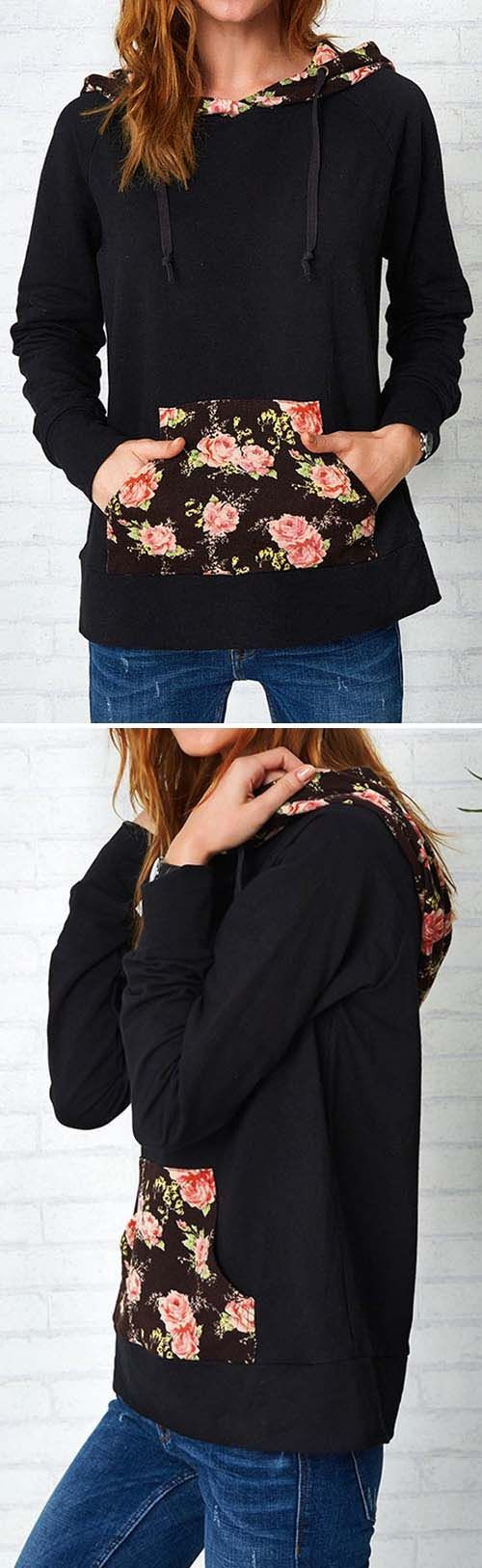 $25.99 & Free shipping! Easy Return + Refund! We love the romantic feel of this sweatshirt! High-quality with absolutely cozy feel! Get some flowers now. For more stylish items at Cupshe.com !