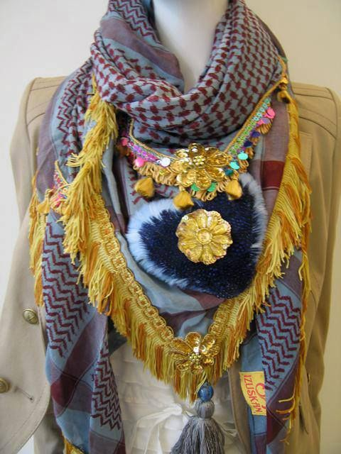 Handmade from Ibiza! New in! Super gave sjaals, elke sjaal uniek design.