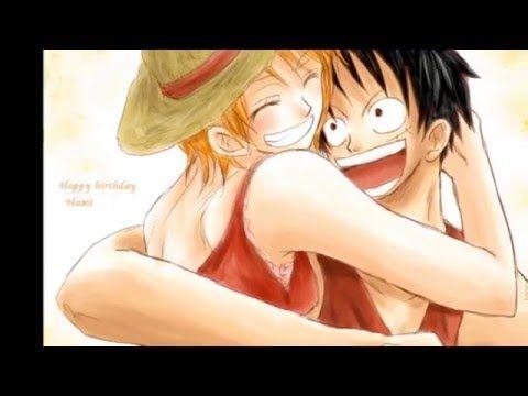 Luffy X Nami My Lucky Strike - YouTube AMV