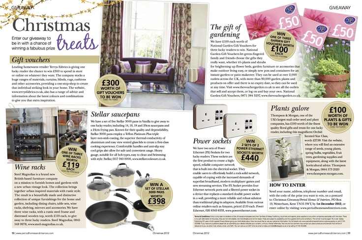Period Homes & Interiors Nov 2012