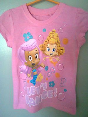 nwt bubble guppies tshirt size 4