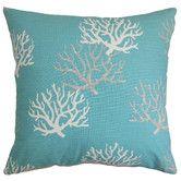 Found it at Wayfair - Hafwen Coastal Cotton Throw Pillow
