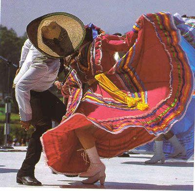 baile folklorico de Mexico