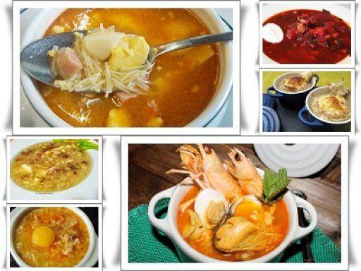 5 recetas de Sopas buenisimas